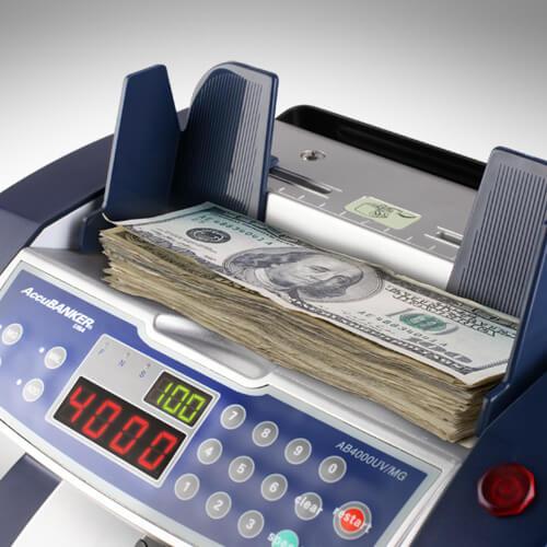 2-AccuBANKER AB 4000 UV/MG liczarka banknotów