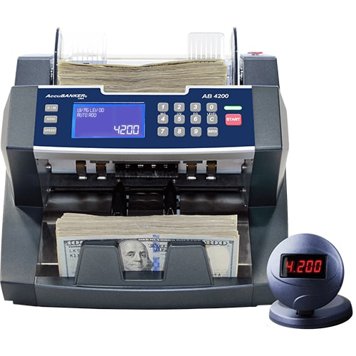 1-AccuBANKER AB 4200 UV/MG liczarka banknotów