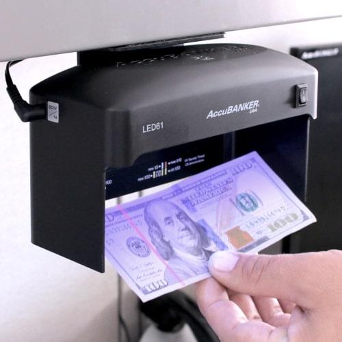 2-AccuBANKER LED61 tester banknotów